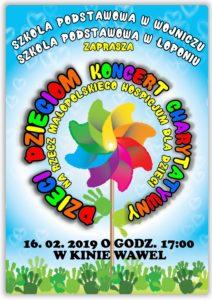 Koncert Charytatywny DZIECI - DZIECIOM na rzecz Małopolskiego Hospicjum dla Dzieci