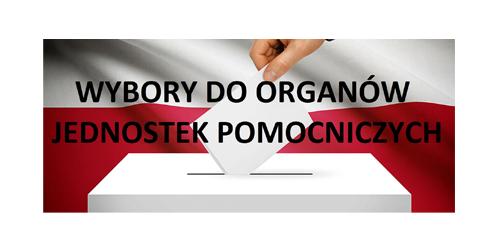 logo Wyborów Do Organów Jednostek Pomocniczych