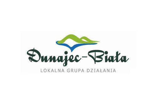 Logo LGD Dunajec-Biała