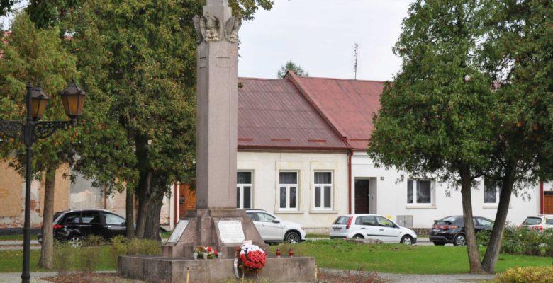 Zdjęcie Pomnika Niepodległości w Wojniczu.