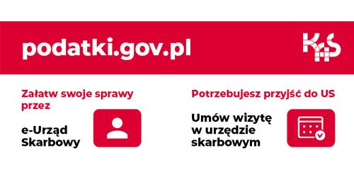 baner Pierwszego Urzędu Skarbowego w Tarnowie