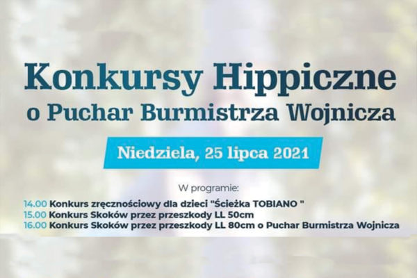 Konkursy Hippiczne w Więckowicach