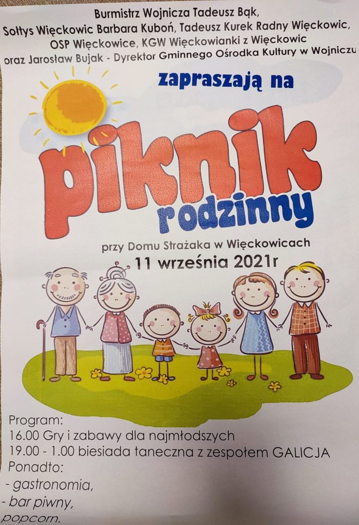 Piknik Rodzinny w Więckowicach