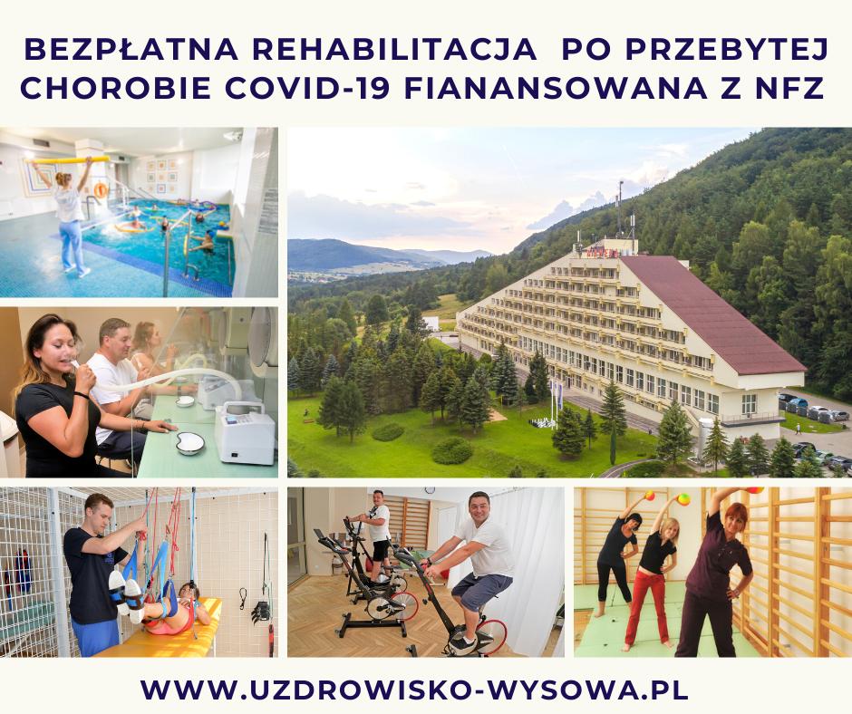 Bezpłatna rehabilitacja po Covid-19 finansowana w NFZ